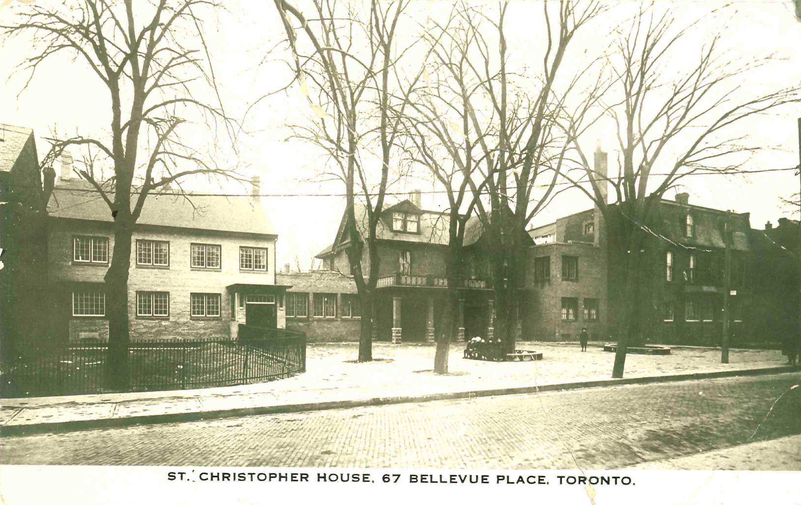 St. Christopher House at 67 Bellevue Place