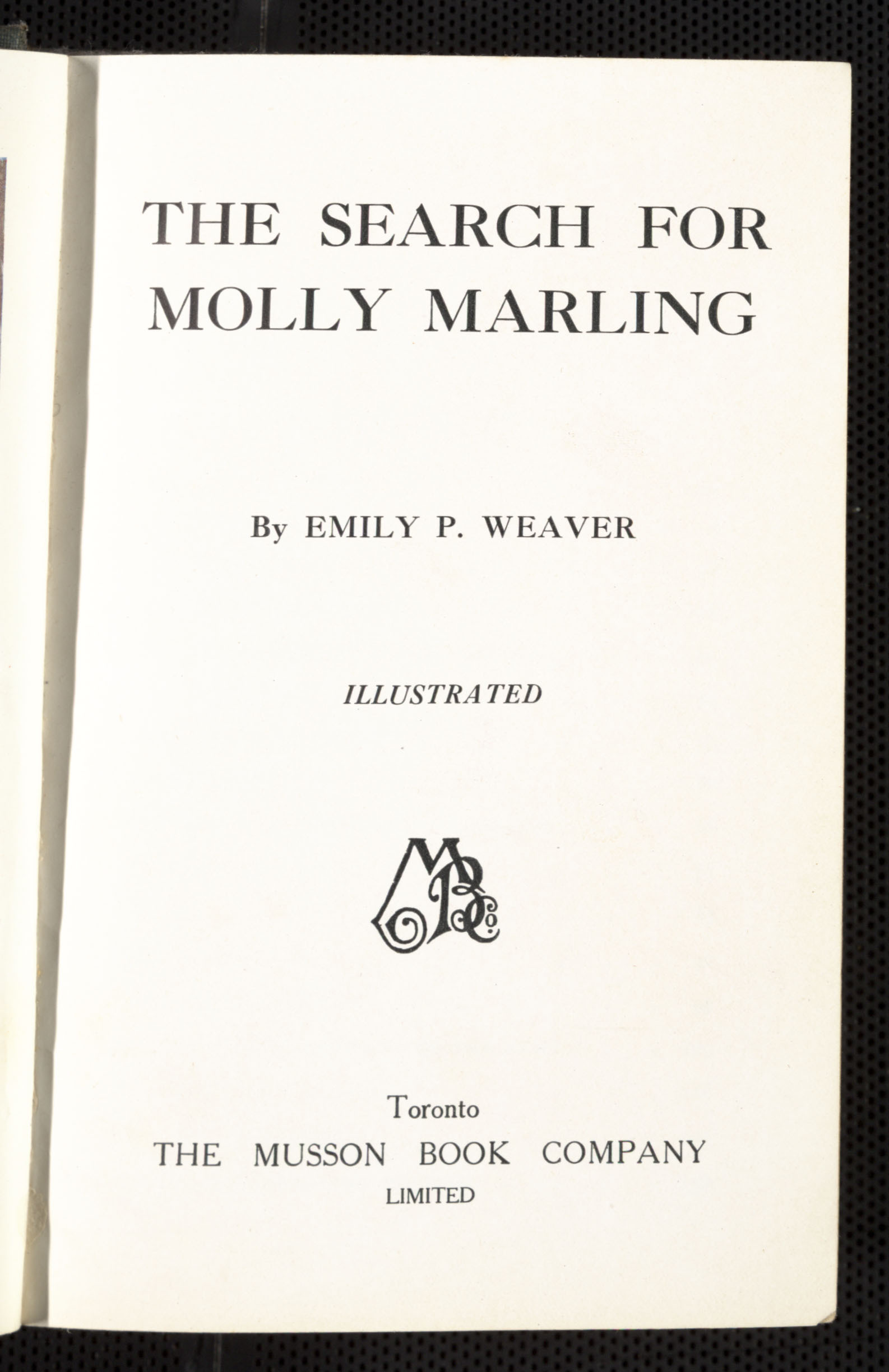 The Search for Molly Marling