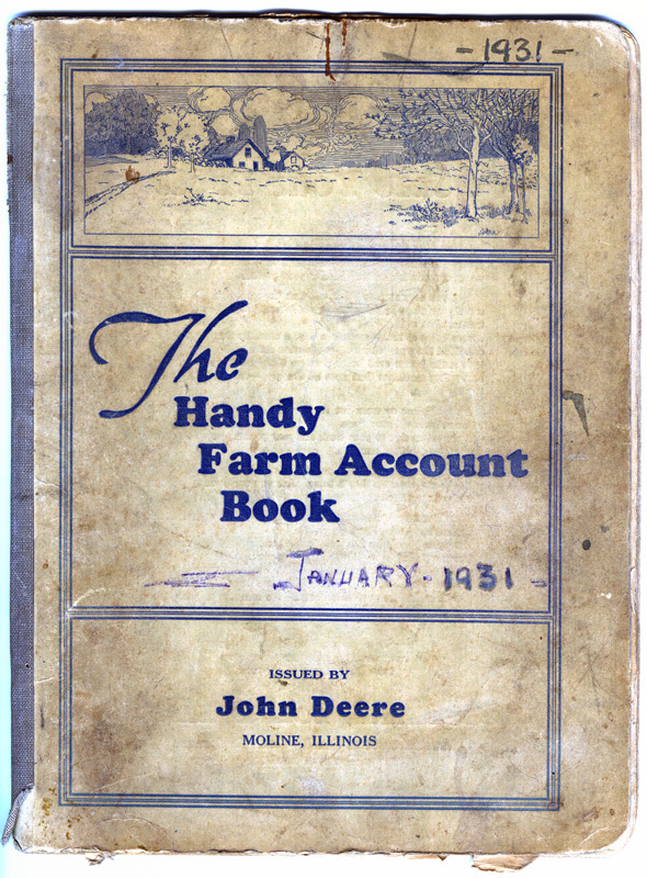 Account book - 1931