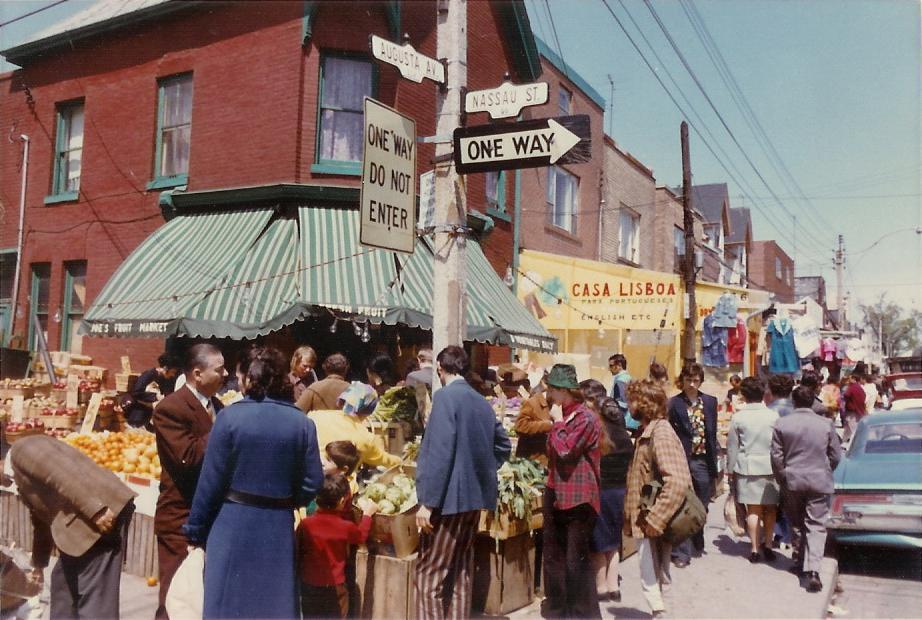 Augusta Ave. and Nassau St. (Kensington Market)