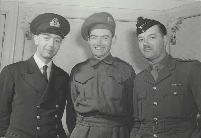 Portrait of Ernest, Jack and Richard Bartlett