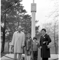 Carlos Pereira and Family (Woman and two children), High Park, Toronto - 1978