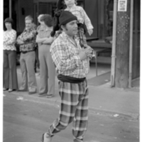Man and boy in Portuguese Costume - 1978