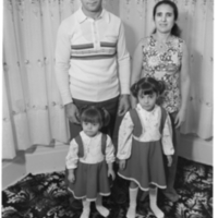 Portuguese family at home (Claremont St.)
