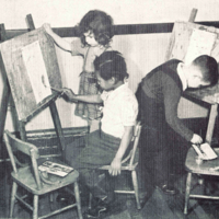 Children art class at St. Christopher House