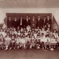 #140 1966 12 Christmas in the FPCC school.bmp