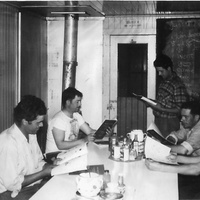 #170 5-16 1950s Manitoba - learning english in the worksite.jpg
