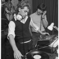 Disc-jockey at Transmontano Club