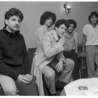 Young men at Transmontano Club