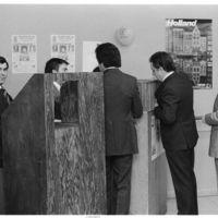 Group of men at Angrense Club