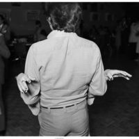 Dancing couple at Portuguese club