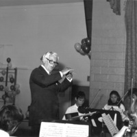 Victor Feldbrill at 50th anniversary of St. Christopher House Music School
