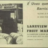 Lakeview Fruit Market ad: Is it grapes that you seek?