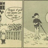 Cartoon: Santa Claus welfare or employment insurance