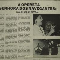 "Community play: ""Senhora dos Navegantes"""