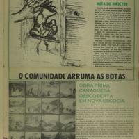 Final issue of Comunidade