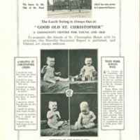 Cover of St. Christopher House bulletin Vol 1. no. 4