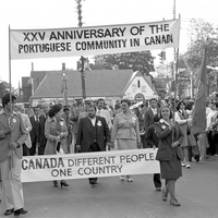 Parade, 25th Anniversary of Portuguese immigration to Canada