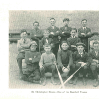 St. Christopher House boys' baseball team