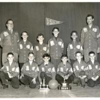 St. Christopher House minor basketball team