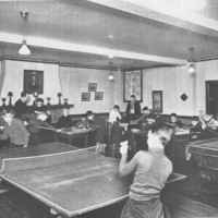 St. Christopher House boy's game room