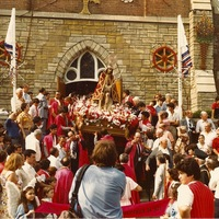 Azorean religious parade St Agnes Church c1984.jpeg