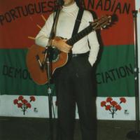 José Mário Branco performs at the PCDA (Toronto, Canada)