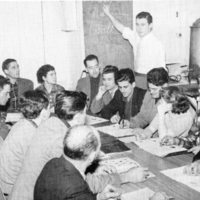 St. Christopher House English class