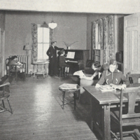 Girls club room: St. Christopher House