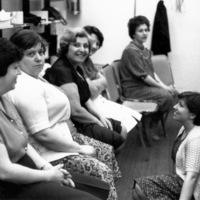St. Christopher House women English class 1981-82: graduation