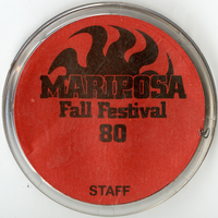 Mariposa Folk Festival button