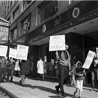 PCDA members protest in front of Portuguese consulate