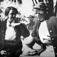 """""""Miss Day. Miss Sample"""": workers at St. Christopher House"""