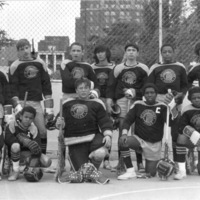 St. Christopher House's lacrosse team