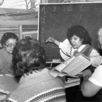 Literacy class at St. Christopher House