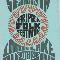 Seventh Annual Mariposa Folk Festival Innis Lake Ontario Aug. 11 12 13