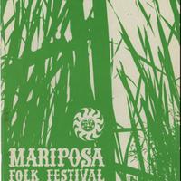 Mariposa Folk Festival Souvenir Program