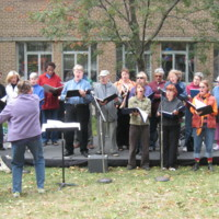 St. Christopher House's Toronto Song Lovers' Choir performing at Queen West Festival