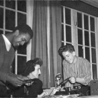 Youth playing records at St. Christopher House