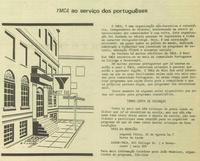 """West End YMCA serving the Portuguese"""