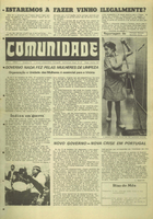 Comunidade reports struggle of office cleaners