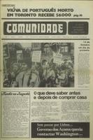 Comunidade issue reports labour protest