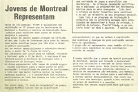 """Jovens de Montreal representam"""