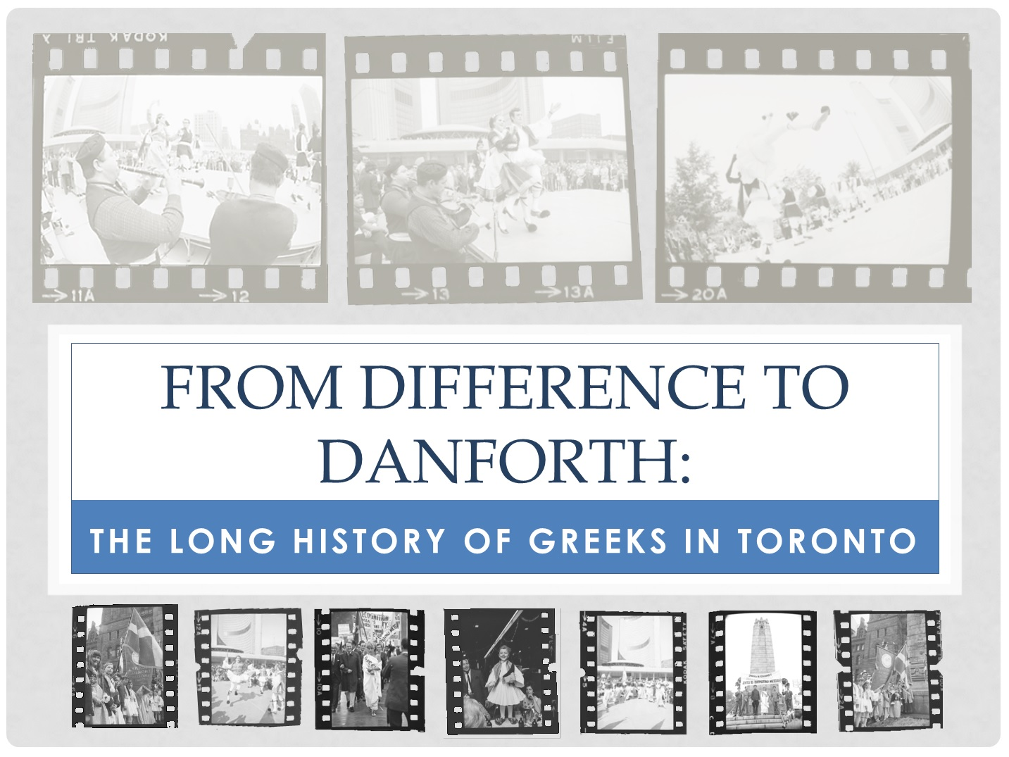 From Difference to Danforth – TDSB Greek Herritage Month